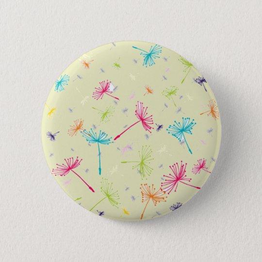 Dandelion Wishes Button