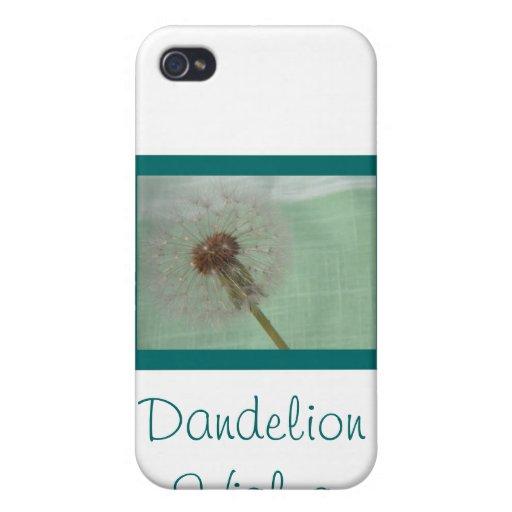 Dandelion Wishes iPhone 4 Case