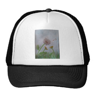 Dandelion Wishes on the Wind Trucker Hat