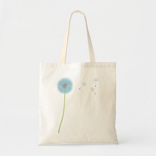 Dandelion Wishes Tote Budget Tote Bag