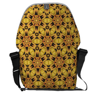 Dandelion Yellow Gold Messenger Bag