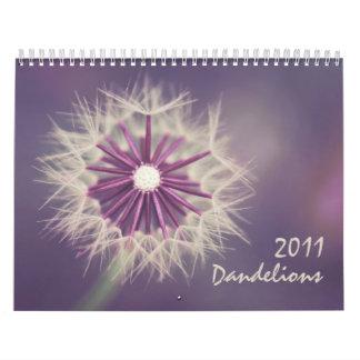 Dandelions 2011 calendar
