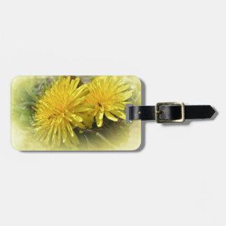 Dandelions - A Sunny Hi Travel Bag Tags