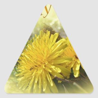 Dandelions - A Sunny Hi Sticker