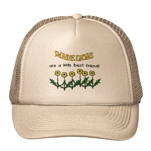 Dandelions Are A Kids Best Friend Tshirts and Gift Mesh Hats