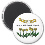 Dandelions Are A Kids Best Friend Tshirts and Gift Fridge Magnets