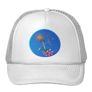 Dandelions-First Seeds and flowers Trucker Hat