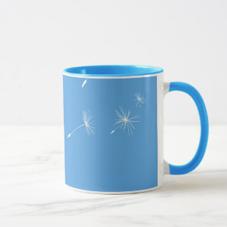 Dandelions flying mug