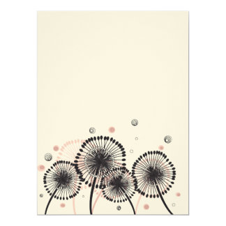 Dandelions Invitation