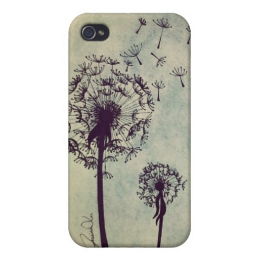Dandelions Cases For iPhone 4