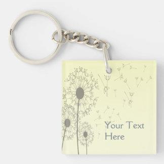Dandelions Keychain