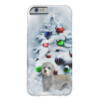 Dandie Dinmont Christmas Barely There iPhone 6 Case
