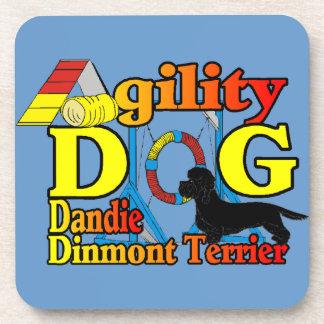 Dandie_Dinmont_Terrier_Agility Posavasos De Bebidas