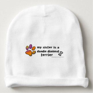 dandie dinmont terrier baby beanie