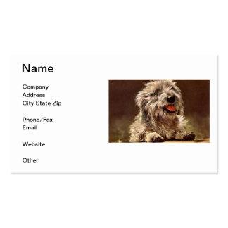 Dandie Dinmont Terrier Business Card