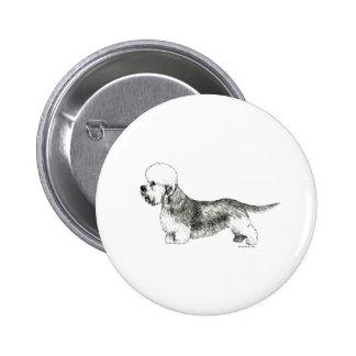 Dandie Dinmont Terrier Pinback Button