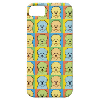 Dandie Dinmont Terrier Cartoon Pop-Art iPhone SE/5/5s Case