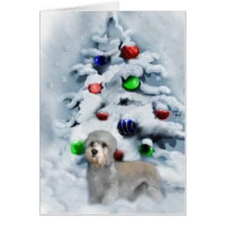Dandie Dinmont Terrier Christmas Card