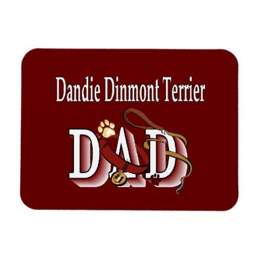 Dandie Dinmont Terrier DAD Rectangle Magnet