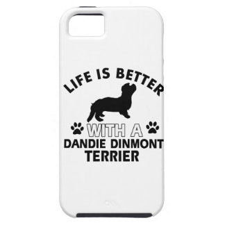 Dandie Dinmont Terrier designs iPhone SE/5/5s Case