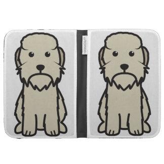 Dandie Dinmont Terrier Dog Cartoon Kindle Folio Case