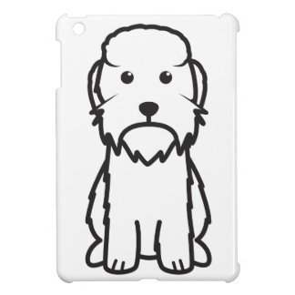 Dandie Dinmont Terrier Dog Cartoon Cover For The iPad Mini
