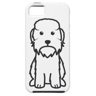 Dandie Dinmont Terrier Dog Cartoon iPhone 5 Covers
