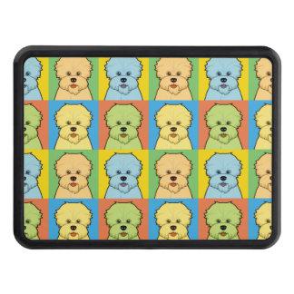Dandie Dinmont Terrier Dog Cartoon Pop-Art Tow Hitch Cover