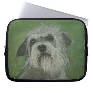 Dandie Dinmont Terrier Dog Computer Sleeve