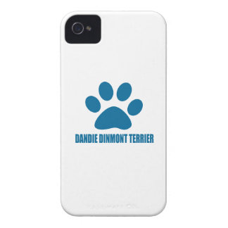 DANDIE DINMONT TERRIER DOG DESIGNS iPhone 4 Case-Mate CASE