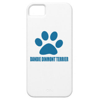 DANDIE DINMONT TERRIER DOG DESIGNS iPhone SE/5/5s CASE