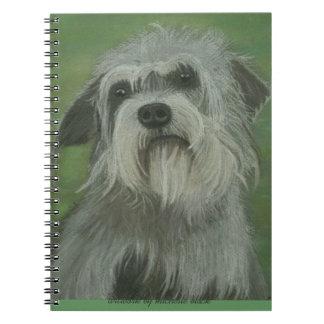 Dandie Dinmont Terrier Dog Notebook