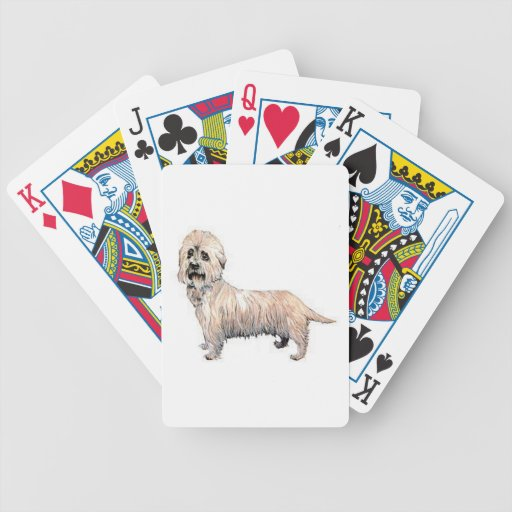 Dandie Dinmont Terrier Dog Playing Cards