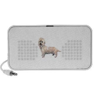 Dandie Dinmont Terrier Doodle Mini Speaker