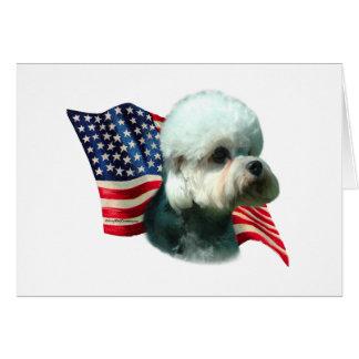Dandie Dinmont Terrier Flag Card