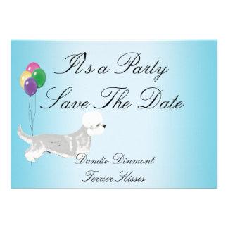 Dandie Dinmont Terrier - Kisses Custom Invitations
