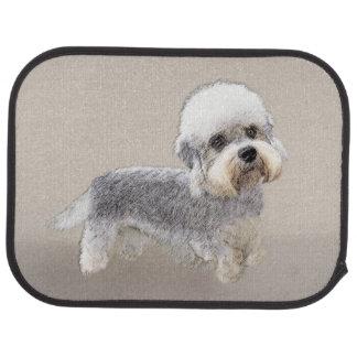 Dandie Dinmont Terrier Painting Original Dog Art Car Mat