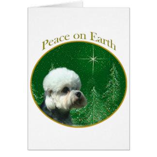 Dandie Dinmont Terrier Peace Card