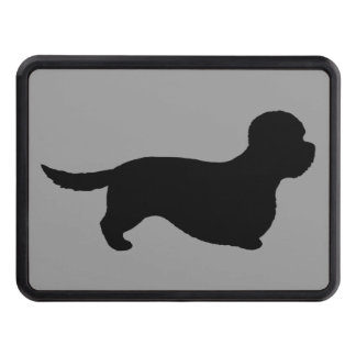 Dandie Dinmont Terrier Silhouette Hitch Cover