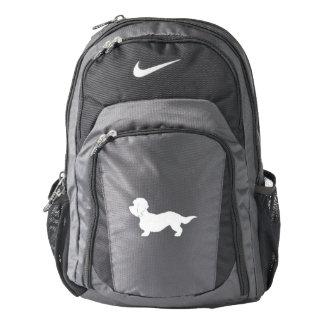 Dandie Dinmont Terrier Silhouette Nike Backpack