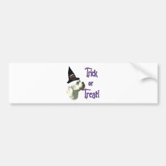 Dandie Dinmont Terrier Trick Bumper Sticker