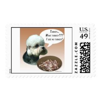 Dandie Dinmont Terrier Turkey Postage Stamp