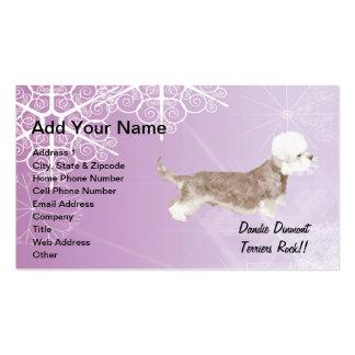 Dandie Dinmont Terriers Rock !! Business Card