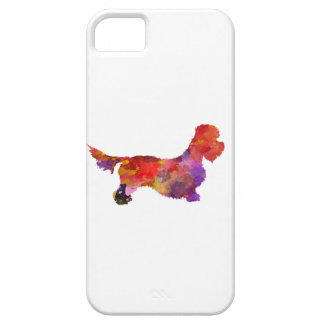 Dandie Dinmont to terrier in watercolor 2 iPhone SE/5/5s Case