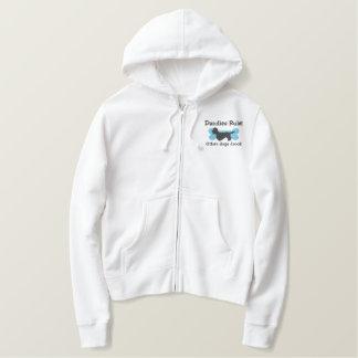 Dandies Rule Embroidered Zip Hoodie