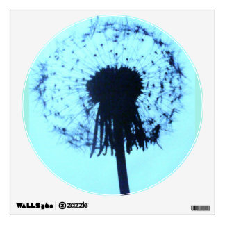 Dandilion silouette wall decal
