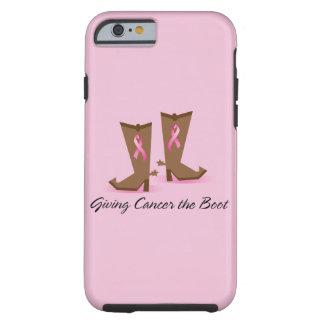 Dando a cáncer el caso del iPhone 6 de la bota Funda Para iPhone 6 Tough