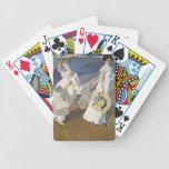 Dando un paseo a lo largo de la costa, 1909 baraja cartas de poker