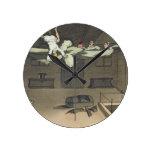 Dando vuelta adentro - y hacia fuera otra vez, pla reloj redondo mediano