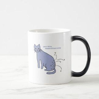 """""""Dandruff-Butt Kitty"""" Magic Mug"""